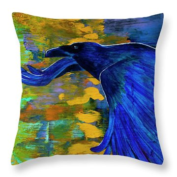 Speak To Me Of Magic Throw Pillow by Tracy L Teeter