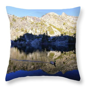Throw Pillow featuring the photograph Speak Up For All Wildlife  by Sean Sarsfield