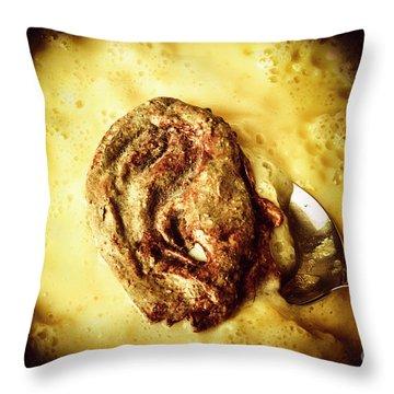 Speakeasy Pudding Throw Pillow