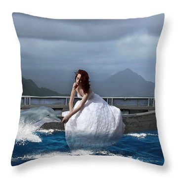Special Connection Throw Pillow