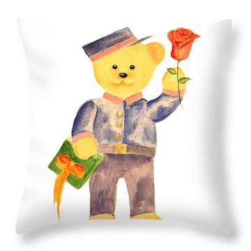 Special Delivery Throw Pillow