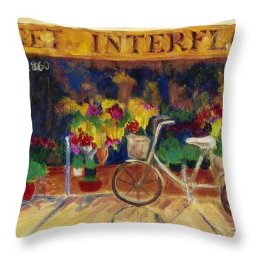Special Delivery Throw Pillow by Tara Moorman