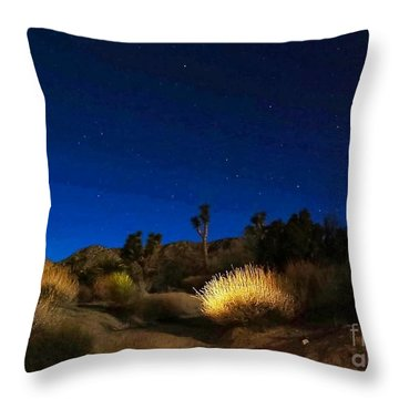 Special Glow Throw Pillow