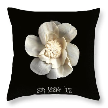 Special Magic Flower - For A Special Lady Throw Pillow