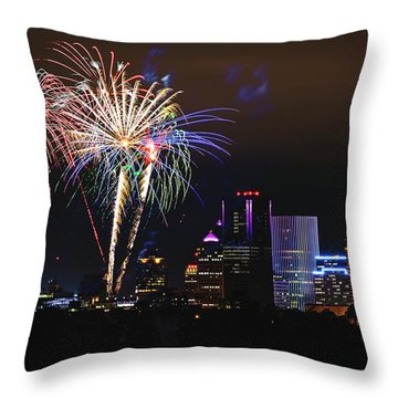 Spectacular Celebration Throw Pillow