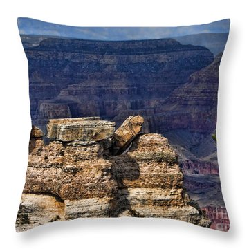 Throw Pillow featuring the photograph Spectacular Grand Canyon by Roberta Byram