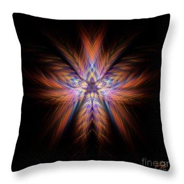 Spectra Throw Pillow by Alina Davis