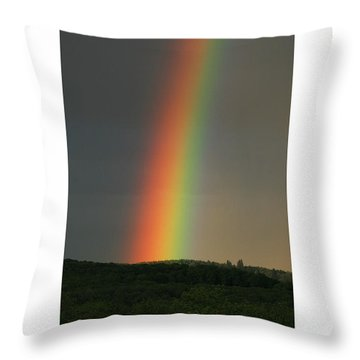 Throw Pillow featuring the digital art Spectrum by Julian Perry
