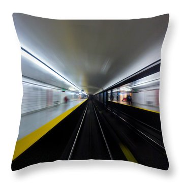 Speed 3 Throw Pillow