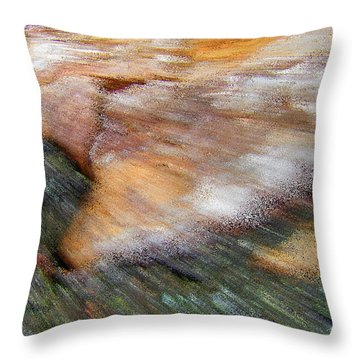 Speed Of Light Abstract Throw Pillow