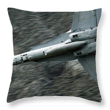 Speed Of Sound Throw Pillow by Angel  Tarantella