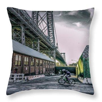 Speed Racer Throw Pillow by Jeffrey Friedkin