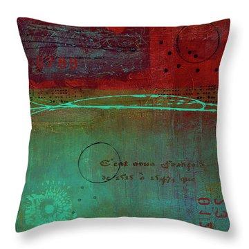 Spellbinder Throw Pillow