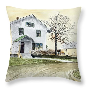 Sperry Homestead Throw Pillow