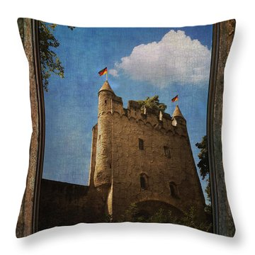 Speyer Castle Throw Pillow