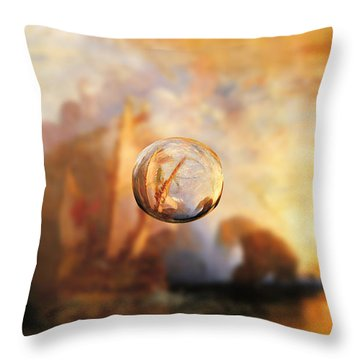 Sphere 11 Turner Throw Pillow by David Bridburg