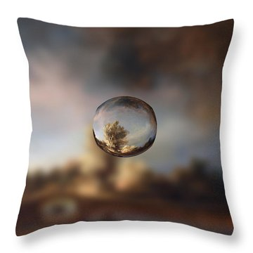 Sphere 13 Rembrandt Throw Pillow by David Bridburg