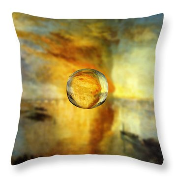 Sphere 26 Turner Throw Pillow by David Bridburg