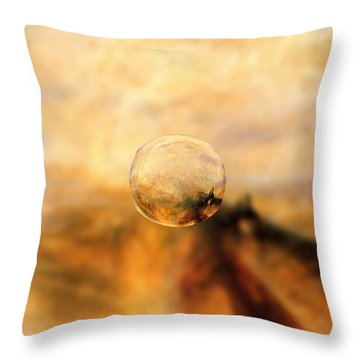 Sphere 8 Turner Throw Pillow by David Bridburg