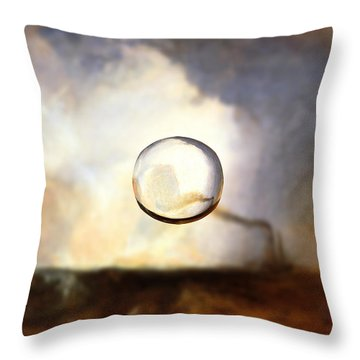 Sphere I Turner Throw Pillow by David Bridburg