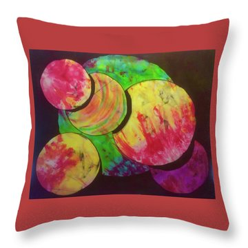 Spheres Throw Pillow