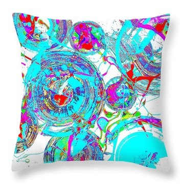 Spheres Series 1511.021413invfddfs-sc-2 Throw Pillow