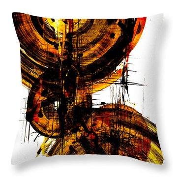 Spherical Joy Series 51.041011vsscvs Throw Pillow