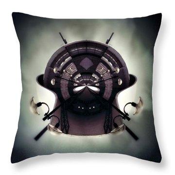 Spherical Throw Pillow by Jorge Ferreira