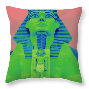 Sphinx At Luxor - 2 Throw Pillow