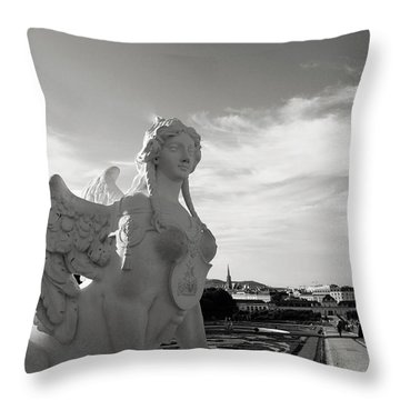 Sphinx- By Linda Woods Throw Pillow