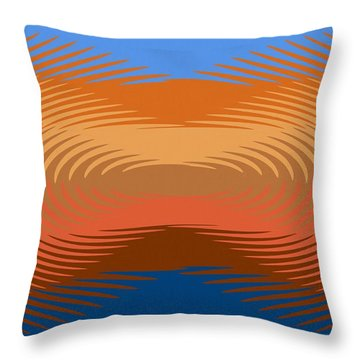 Spice Mining Throw Pillow
