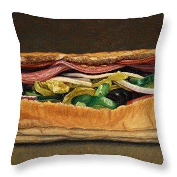 Spicy Italian Throw Pillow by James W Johnson