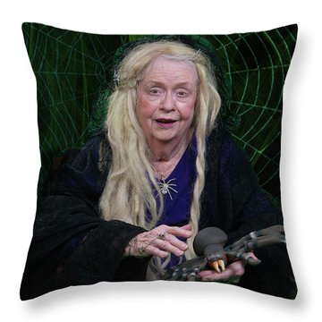 Spider Woman Throw Pillow