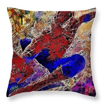 Spiderman 2 Throw Pillow
