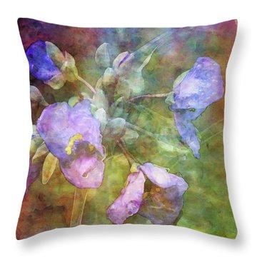 Spiderwort 1398 Idp_2 Throw Pillow