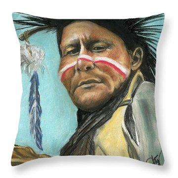Spike Jake Throw Pillow