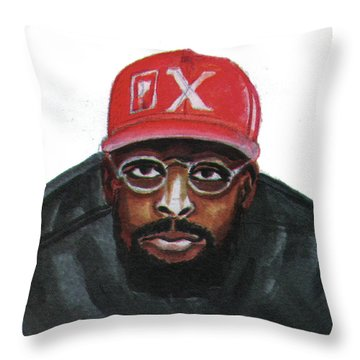 Spike Lee Throw Pillow