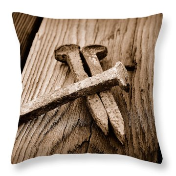 Spikes Throw Pillow