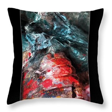 Spill 228 Throw Pillow