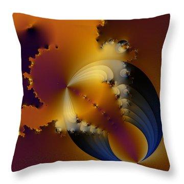Spillage Throw Pillow