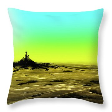 Spilling Throw Pillow
