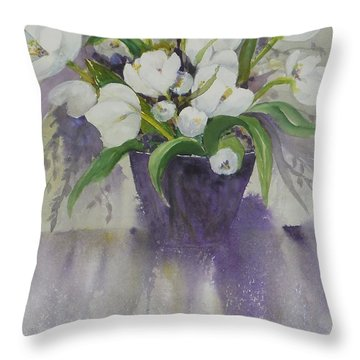 Spillover Throw Pillow