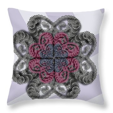 Spin It Throw Pillow