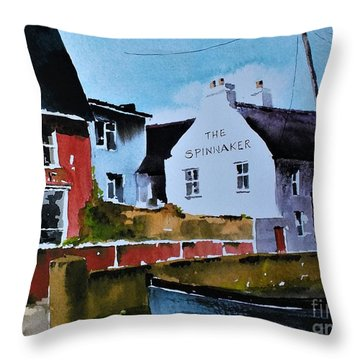 Spinaker In Scilly  Kinsale Throw Pillow