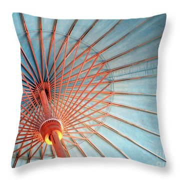 Spindles And Struts Throw Pillow