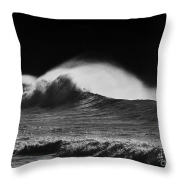 Spindrift Throw Pillow by Mike  Dawson