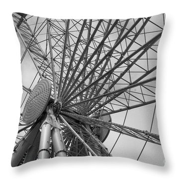 Spining Wheel  Throw Pillow