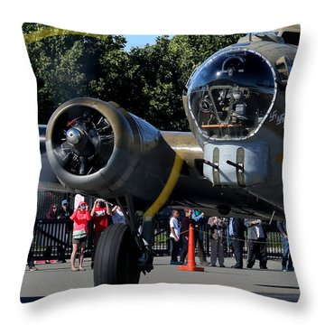 Spinning Prop Throw Pillow