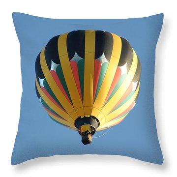 Throw Pillow featuring the digital art Spinning Top by Gary Baird