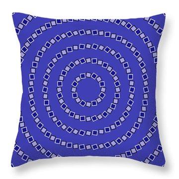 Optical Throw Pillows